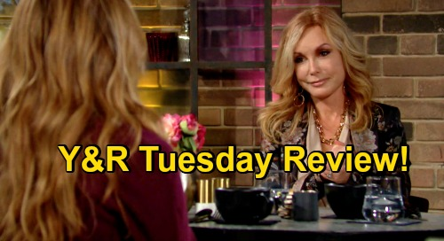 The Young and the Restless Spoilers Review: Tuesday, November 17 – Sally Plots to Eliminate Competition – Theo Masks Broken Heart