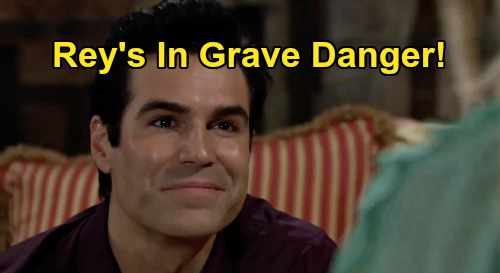The Young and the Restless Spoilers: Rey In Grave Danger - How Far Will Adam Go To Get Sharon?