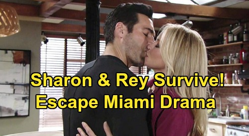 The Young and the Restless Spoilers: Sharon and Rey's Marriage Happens – Love Protects Couple From Shocking Miami Drama
