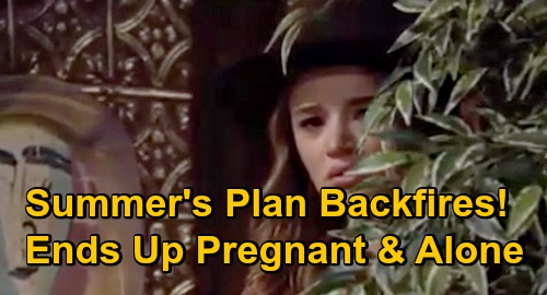 The Young and the Restless Spoilers: Summer's Plan Backfires - Ends Up Pregnant & Alone While Kyle's Drawn Back To Lola?