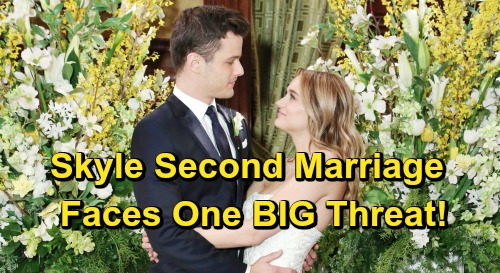 The Young and the Restless Spoilers: Summer and Kyle's Second Marriage – Skyle Sequel Faces One Big Threat