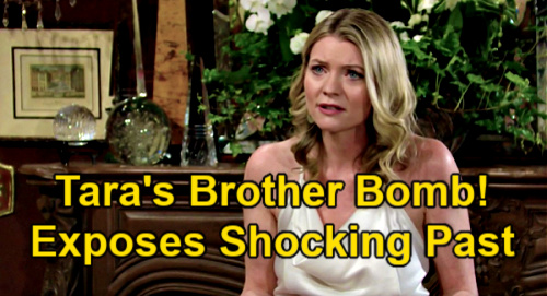 The Young and the Restless Spoilers: Tara's Estranged Brother Reveals Disturbing Secrets – Spills Truth About Sister's Past?