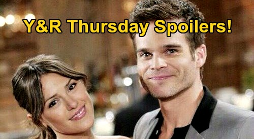 The Young and the Restless Spoilers: Thursday, August 13 – Jack and Victor Battle Over Adam – Kevin's Baby Boy Freak-Out
