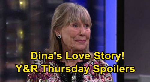 The Young and the Restless Spoilers: Thursday, August 20 – Dina's Love Story -  Nikki's Intriguing Offer - Nick Chooses Sides