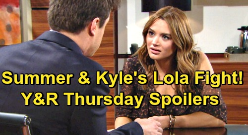 The Young and the Restless Spoilers: Thursday, October 22 – Summer & Kyle's Lola Showdown – Jack's Special Way to Honor Dina