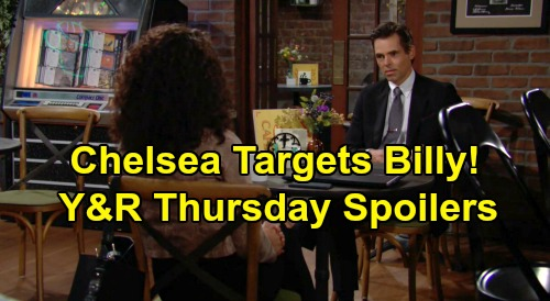 The Young and the Restless Spoilers: Thursday, September 17 – Adam's Victor Revenge Begins, Chelsea Targets Billy First – Elena Loses It