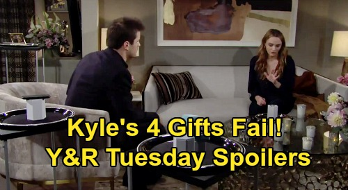 The Young and the Restless Spoilers: Tuesday, October 27 – Kyle's 4 Gifts Aren't Enough for Summer – Elena's Painful New Normal