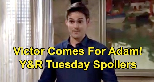 The Young and the Restless Spoilers: Tuesday, September 1 – Lola's Attitude Problems, Theo's Lost – Victor Heals Adam's Wounds