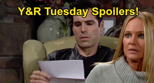 The Young and the Restless Spoilers: Tuesday, September 8 – Sharon Fears Death After Crushing Cancer Blow – Chance's Risky Adam Move