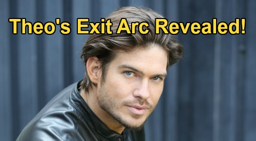 The Young and the Restless Spoilers: Tyler Johnson Exit Story - Jack Gives Up Dina's Money on One Condition, Theo Leaves GC?