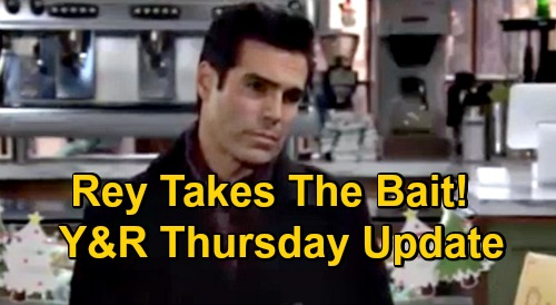 The Young and the Restless Spoilers Update: Thursday, December 17 – Rey Takes Lily's Alyssa Bait – Summer Calls Out Sally's Game