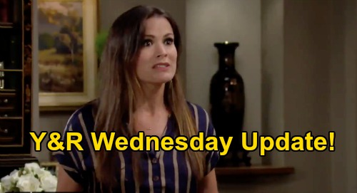 The Young and the Restless Spoilers Update: Wednesday, August 12 – Adam Summons Farm Caretaker, Chelsea Panics – Summer Waves White Flag