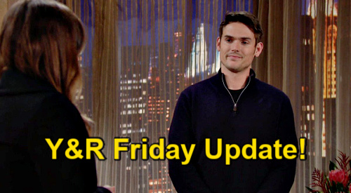 The Young and the Restless Spoilers Update: Friday, February 26 – Sally's New Baby – Sharon's Dark Side - Rey Wants Couples Therapy