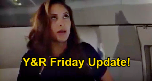 The Young and the Restless Spoilers Update: Friday, January 8 – Stormy Plane Scare - Kyle, Summer, Billy & Lily Panic