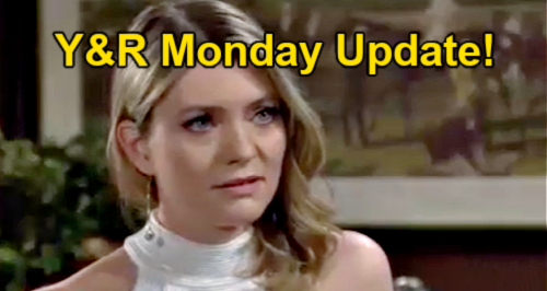 The Young and the Restless Spoilers Update: Monday, July 26 – Tara Whines To Kyle - Sharon Helps Harrison With Ashland Dying