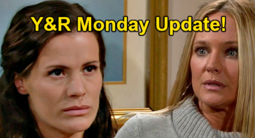 The Young and the Restless Spoilers Update: Monday, May 17 – Chelsea Blames Sharon for Destroying Life - Sally Predicts Kyle Cheating