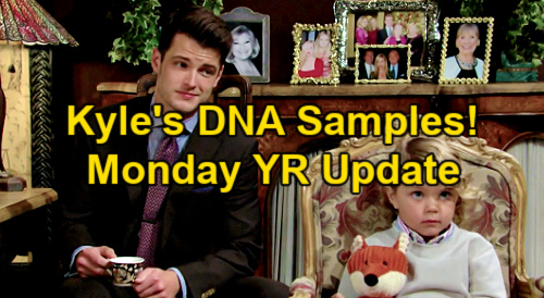 The Young and the Restless Spoilers Update: Monday, May 24 – Kyle's DNA Samples – Tara & Harrison Move In – Phyllis Threatens Ashland