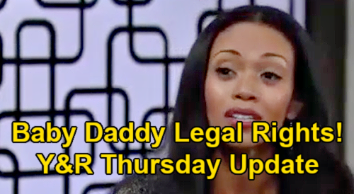 The Young and the Restless Spoilers Update: Thursday, February 25 – Chance Return Doubts - Amanda Warns Uncle Devon Needs Baby Rights