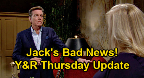 The Young and the Restless Spoilers Update: Thursday, January 21 – Phyllis Sees Abby's Meltdown – Jack's Bad News