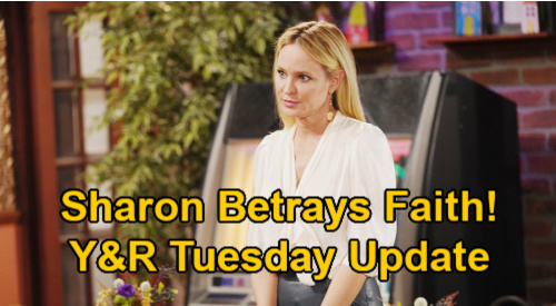 The Young and the Restless Spoilers Update: Tuesday, February 2 – Faith Bolts After Sharon's Betrayal – Sally's Promotion