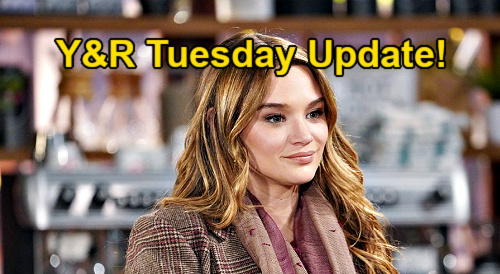 The Young and the Restless Spoilers Update: Tuesday, February 23 – Victor's Ashland Locke Connection – Sally's Warning Rattles Summer