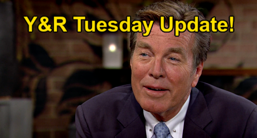 The Young and the Restless Spoilers Update: Tuesday, July 27 – Jack Romances Sally, Falling Hard – Summer's Kyle Goodbye Pain