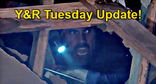 The Young and the Restless Spoilers Update: Tuesday, May 4 – Adam & Nick Face Cellar Roof Cave-In – Victoria's Hidden Agenda