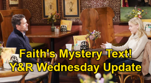 The Young and the Restless Spoilers Update: Wednesday, March 3 – Tara Warns Kyle of Ashland's Arrival – Faith's Mysterious Text