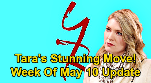 The Young and the Restless Spoilers Update: Week of May 10 – Tara's Stunning Move – Adam's Reset Button -Jack's Gift for Kyle