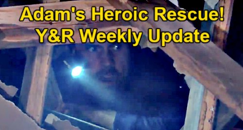 The Young and the Restless Spoilers Update: Week of May 3 – Summer's Revenge Games – Adam's Heroic Rescue - Imani's Creepy Move
