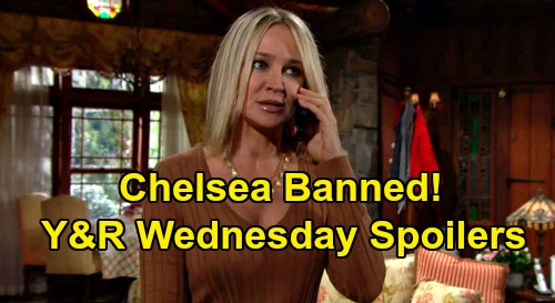 The Young and the Restless Spoilers: Wednesday, August 26 – Victor Lets Sharon Help Adam, Not Chelsea – Lola & Theo Build Trust