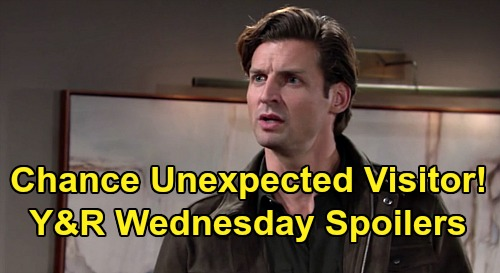 The Young and the Restless Spoilers: Wednesday, September 2 – Nate's Amanda-Hilary Discovery – Chance's Unexpected Visitor