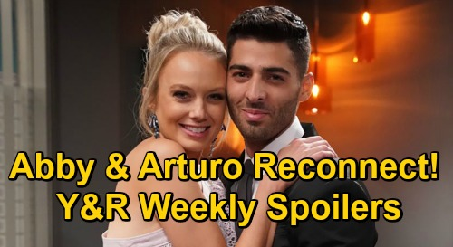 The Young and the Restless Spoilers: Week of December 28 – Abby & Arturo Reconnect – Wedding Crasher Chaos – Nate's Romantic Failure