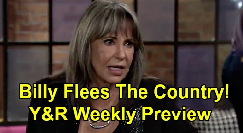 The Young and the Restless Spoilers: Week of December 7 Preview – Jill Tells Billy to Flee the Country – Jack's Theo Settlement