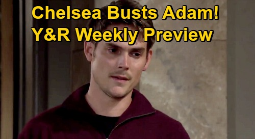 The Young and the Restless Spoilers: Week of November 2 Preview – Summer Snubs Superstar Sally – Chelsea Onto Adam's Evil Plan