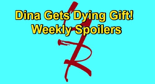 The Young and the Restless Spoilers: Week of October 12 – Dina Gets Dying Gift - Sharon's Test Results – Phyllis Blames Kyle