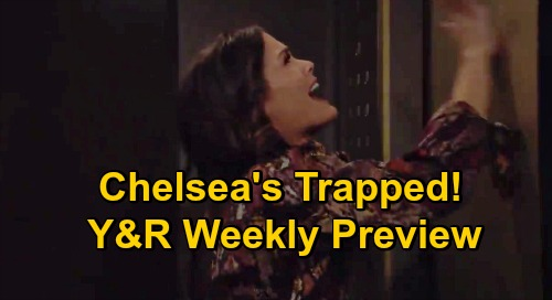 The Young and the Restless Spoilers: Week of October 5 Preview – Chelsea Trapped, Desperate for Help - Surprise Trip Goes Wrong