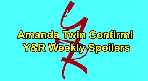The Young and the Restless Spoilers: Week of September 14 – Amanda & Hilary Twin Confirmation – Sharon Ruins 'Shey' – Traci's Discovery