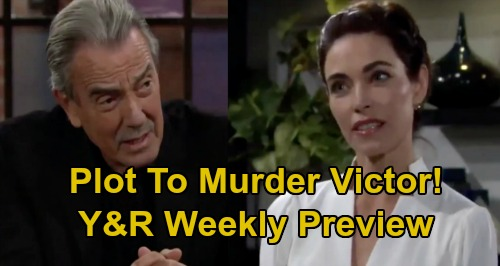 The Young and the Restless Spoilers: Week of September 21 Preview – Victor Murder Plot Now a Headline – Devon's Secret Backfires