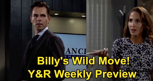 The Young and the Restless Spoilers: Week of September 28 Preview – Billy's Story Goes Public – Victor Stands with Adam – Traci's News
