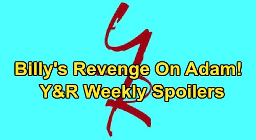 The Young and the Restless Spoilers: Week of September 7 – Billy's Revenge on Adam – Amanda's DNA Results – Theo Surprises Lola