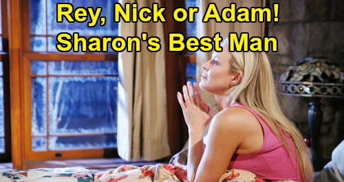 The Young and the Restless Spoilers: Who Will Sharon Be With After She Defeats Cancer – Rey, Nick, or Adam?