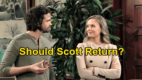 The Young and the Restless Spoilers: Will Daniel Hall Return - Scott Grainger Was Abby's Best Match, Chance Love Triangle Needed?