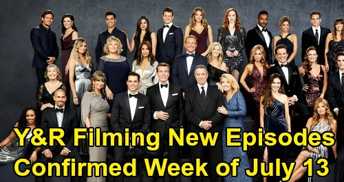 The Young and the Restless Spoilers: Y&R Filming New Episodes Confirmed - Cast and Crew Back to Work Week of July 13