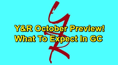 The Young and the Restless Spoilers: Y&R October Preview – Sneak Peek of What's Coming Up in Genoa City