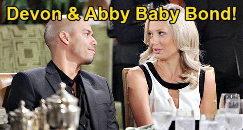 The Young and the Restless Spoilers: Abby & Devon's Baby Bond Brings Romance – Bio Dad Wins Abby's Heart, Chance Stays Gone?