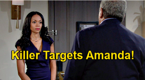 The Young and the Restless Spoilers: Amanda Targeted by Father's Killer - Next Hit Terror Attempts to Bury Truth?