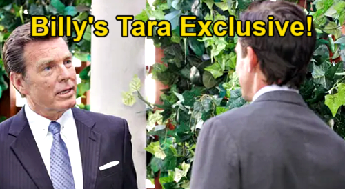 The Young and the Restless Spoilers: Billy's Exclusive Tara Interview – Jack Objects When Brother Ashland Gets Scoop
