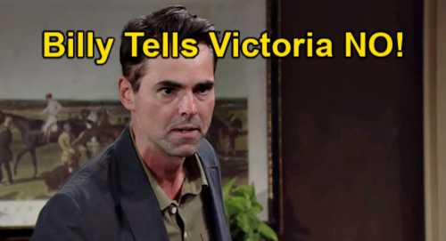 The Young and the Restless Spoilers: Billy Furious as Ashland Bonds with Johnny & Katie – Rejects Victoria's Stepdad Pick?