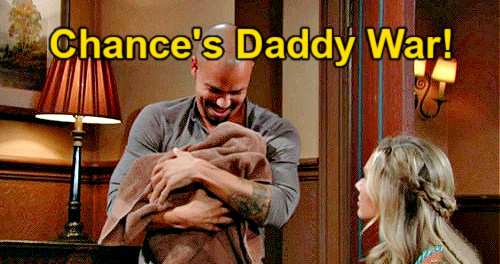 The Young and the Restless Spoilers: Chance & Devon Fight Over Dominic – Abby's Husband Brings Daddy Battle?